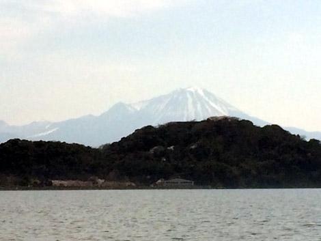 中海からの大山